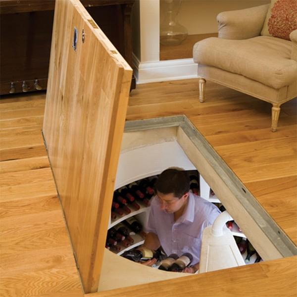 Как сделать погреб деревянный