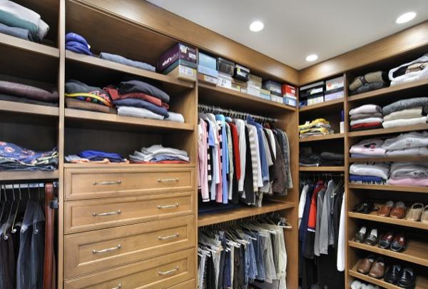Unique Closet Interior Design