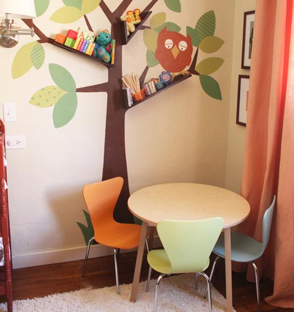 Дизайн дерева в детской