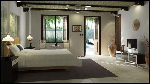 Minimalist & Modern Bedroom Design Inspiration Ideas-11
