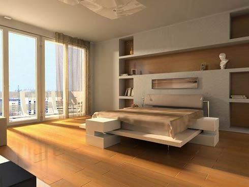Minimalist & Modern Bedroom Design Inspiration Ideas-2