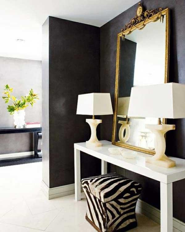 Modern Minimalist Interior Design: Modern & Minimalist Interior Design With Dark Nuances