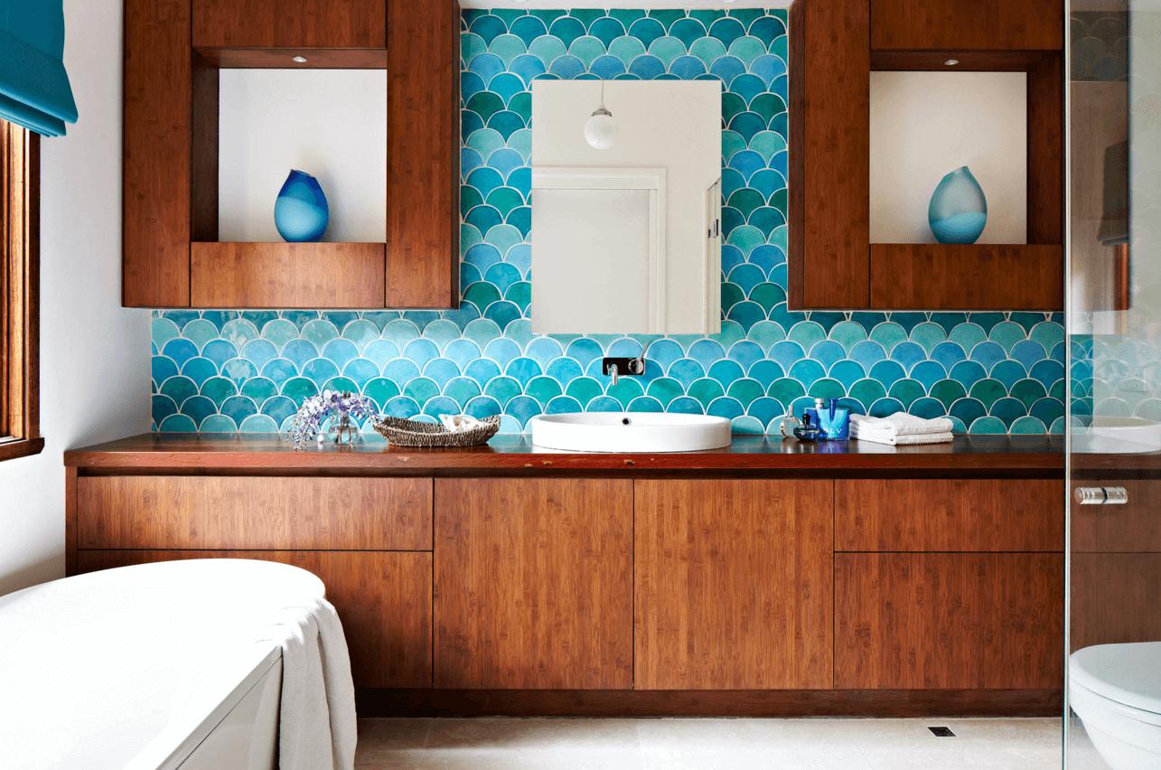 Плитка для ванной комнаты дизайн 17 на 17