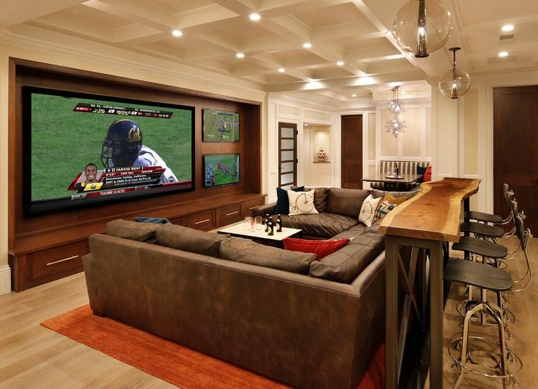 Bar Concept Home Theater Design