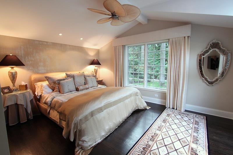 Bedrooms with hardwood floors