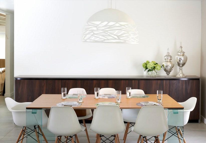 Contemporary Miami Dining Room