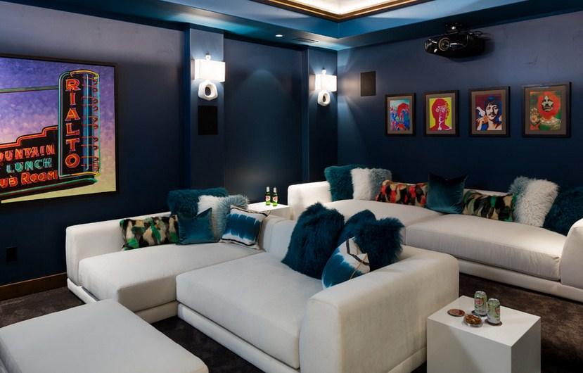 Gordon Residence Home Theater Design