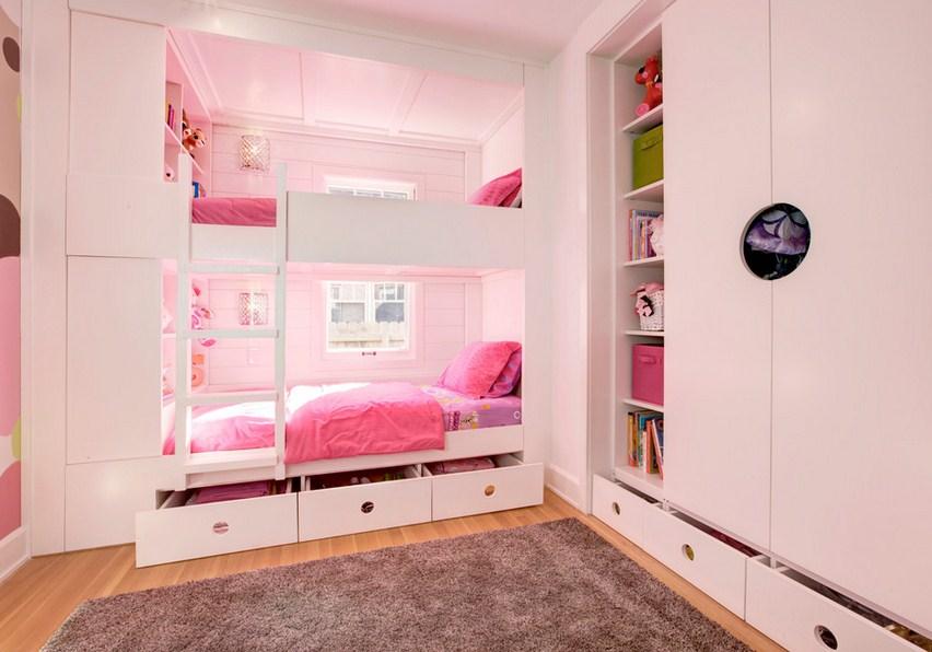 Irvington Modern Tudor Kids Room