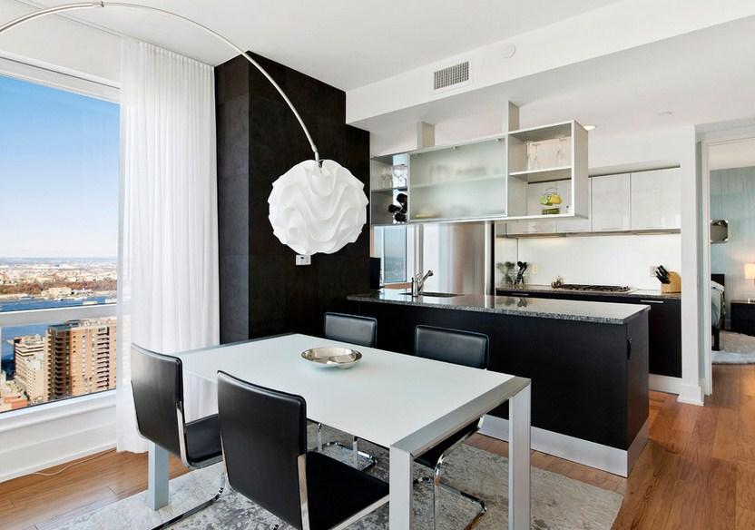 Minimal Modern Dining Room