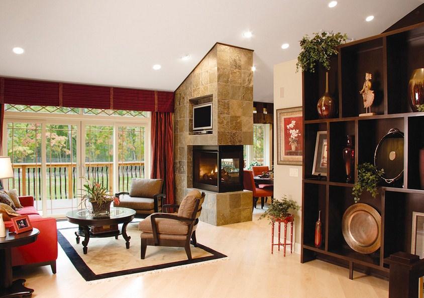 Beaugureau Studios Fireplace