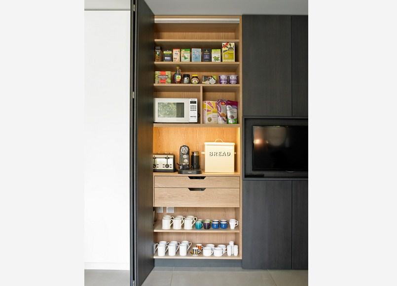 Breakfast Cabinet Pantry Design