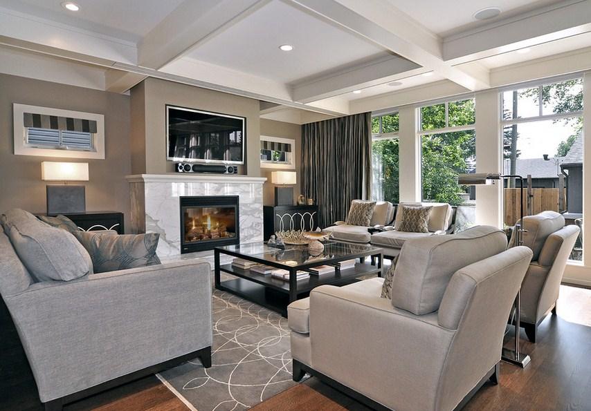 Calgary Traditional Living Room Furniture