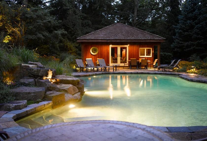 Connecticut Home Pool Design