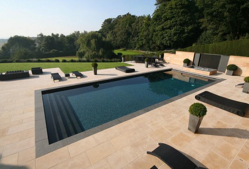 Contemporary Pool Design