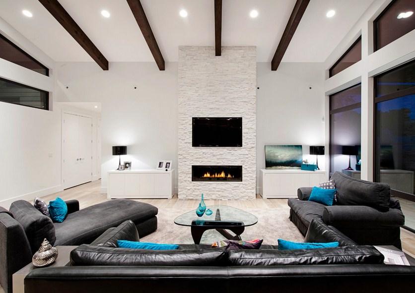 Contemporary Rockridge Fireplace