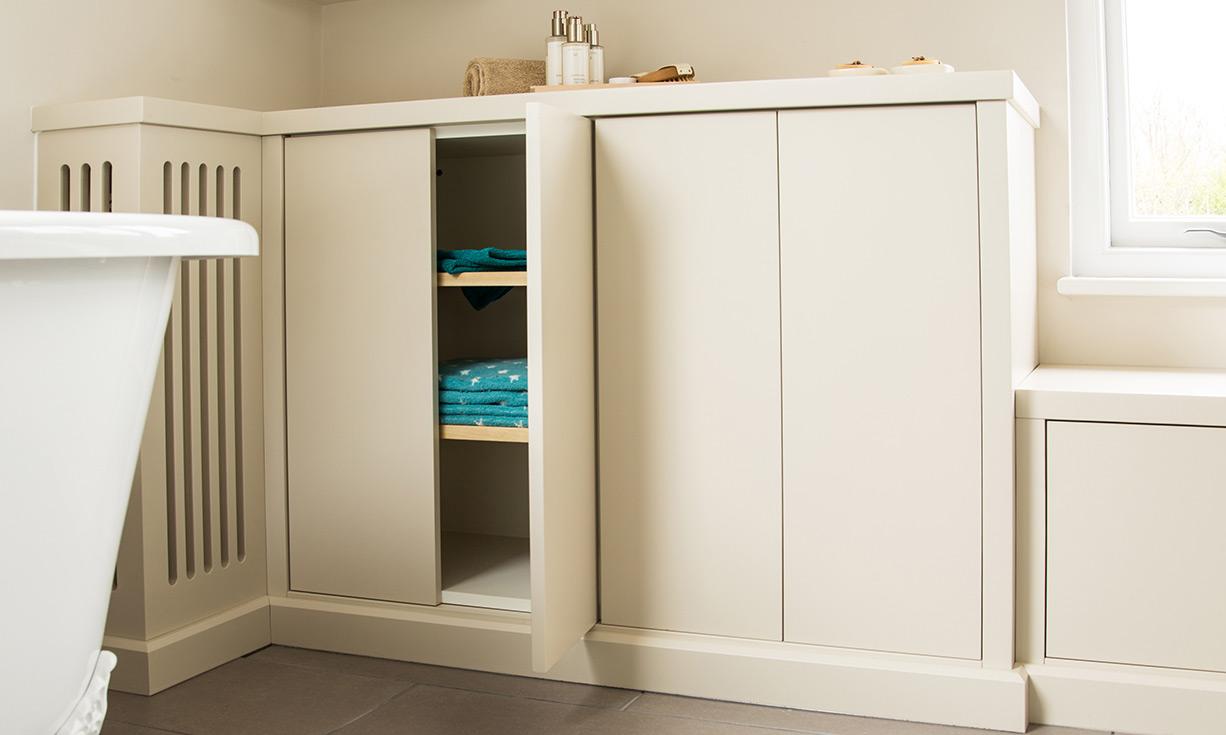 Custom Floor Furniture Bathroom Cabinet