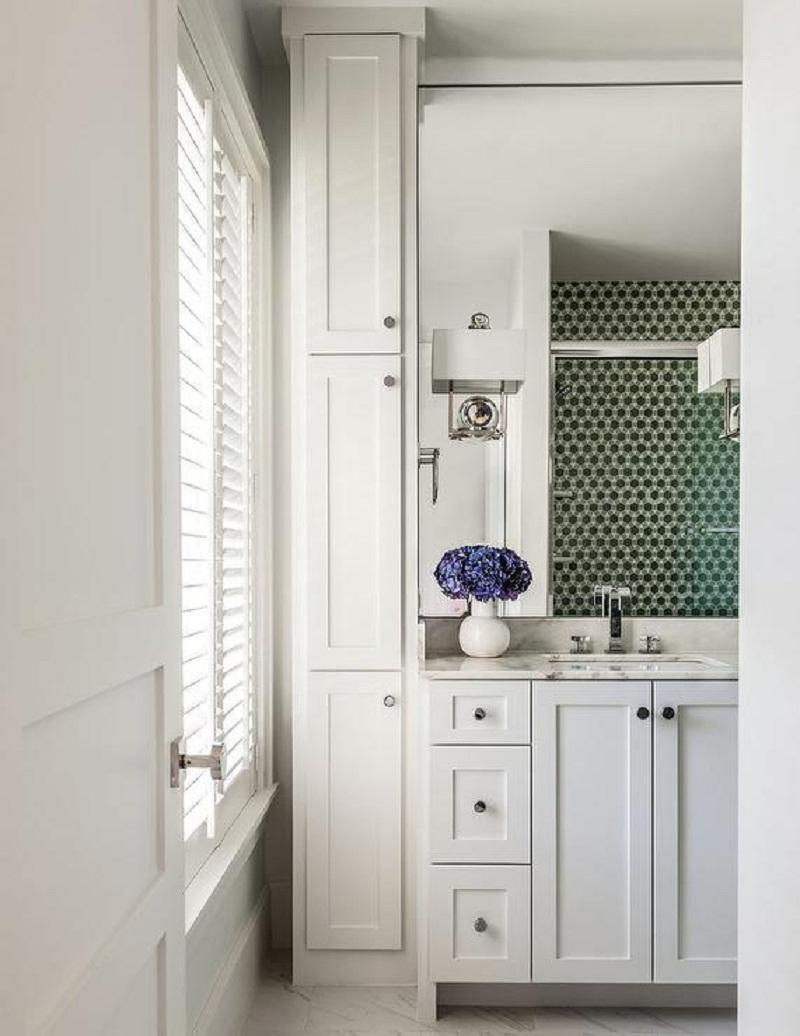 Floor To Ceiling Vertical Bathroom Cabinets
