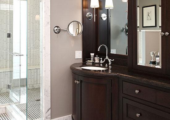 Home Bathroom Custom Cabinet
