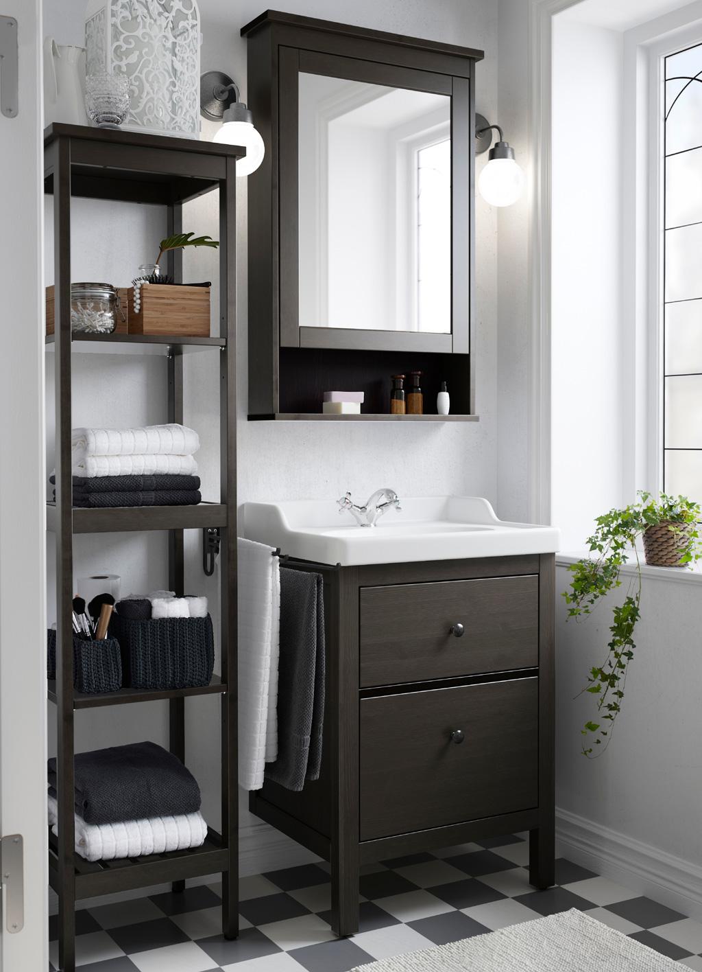 Ikea Small Elegan Bathroom Cabinet
