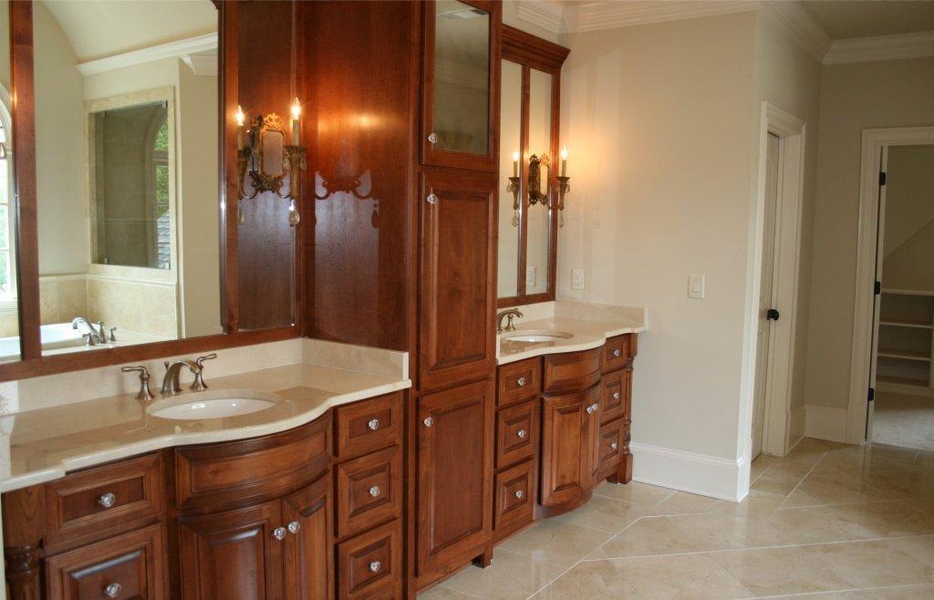 Master Bath Custom Cabinetry