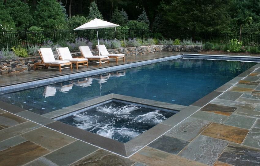 New York Traditional Pool Design