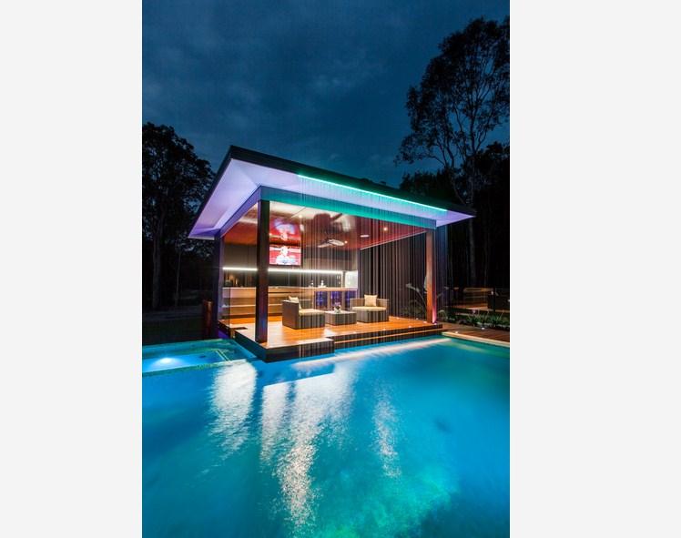 Outdoor Living Pool Design