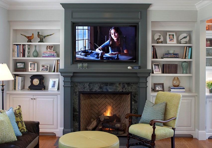 Paint Color On Fireplace Mantel