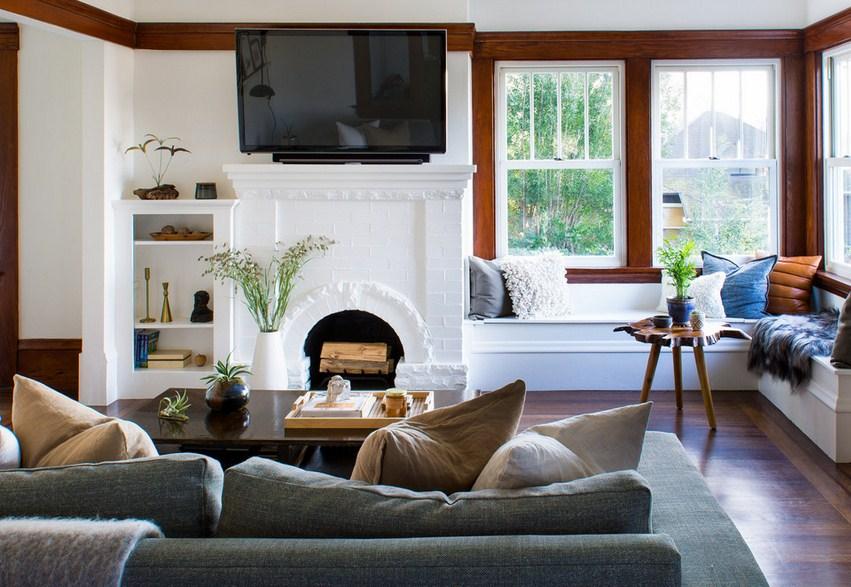 Piedmont Ave Fixer Upper Living Room Furniture
