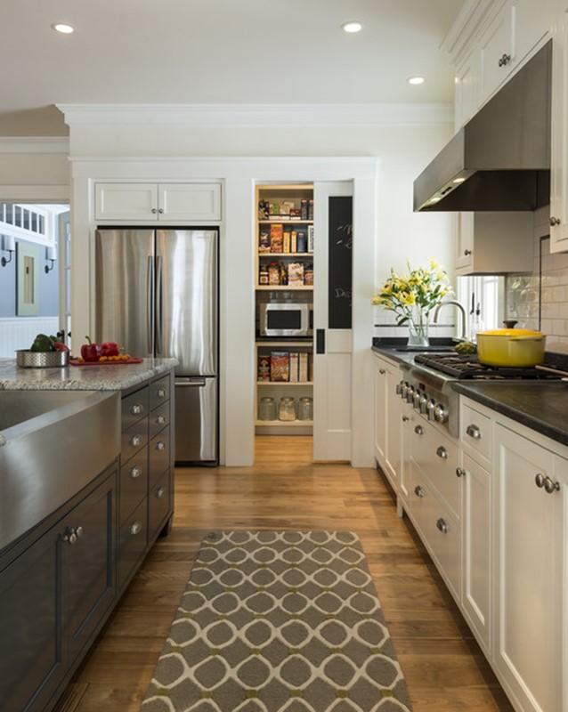 Pocket Pantry Door Kitchen Set