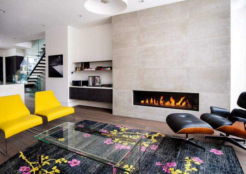 Rox Residence Fireplace Design