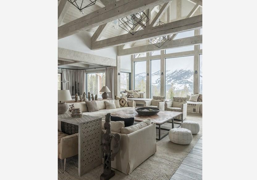 Rustic Zen Living Room Furniture