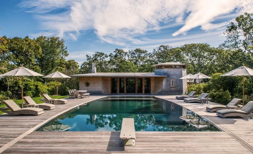 Shingle Style Pool Design