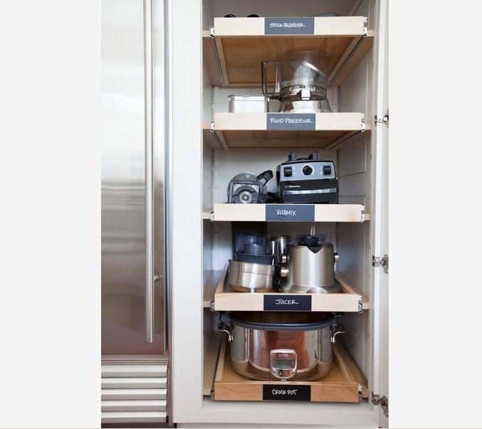 Stainless Kitchen Tool Organization