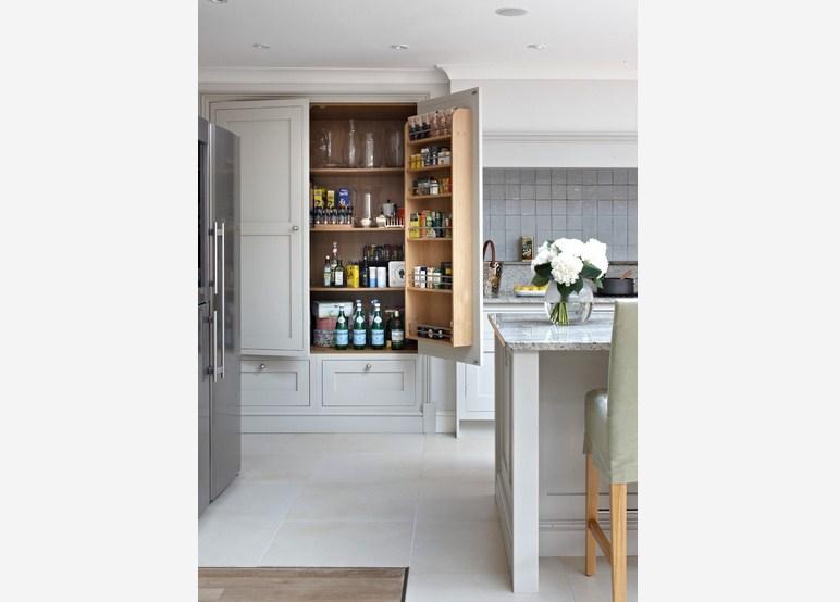 Surrey Bespoke Traditional Shaker Kitchen Pantry Design