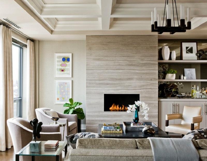 The Bryant Back Bay Fireplace Design