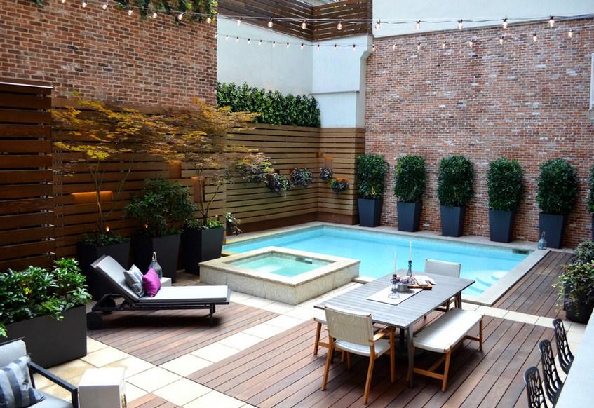 Tribeca Pool Garden