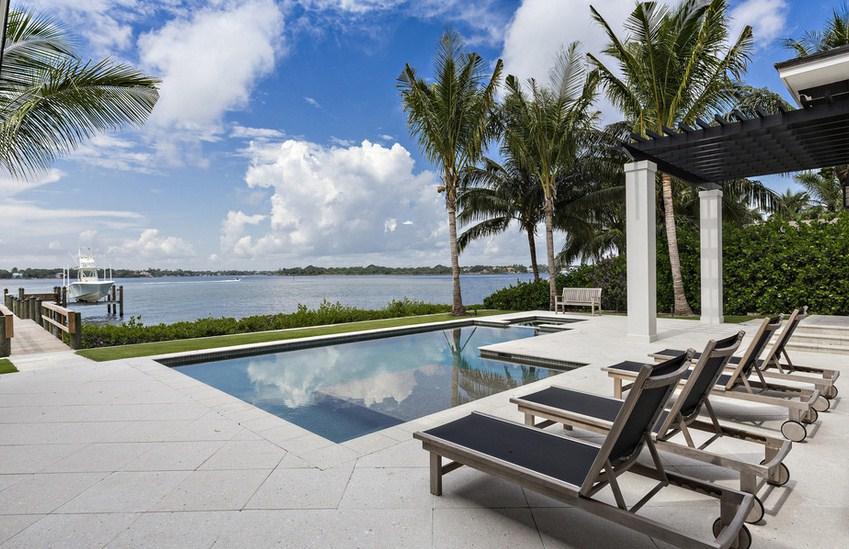 West Indies Island Retreat Pool Design