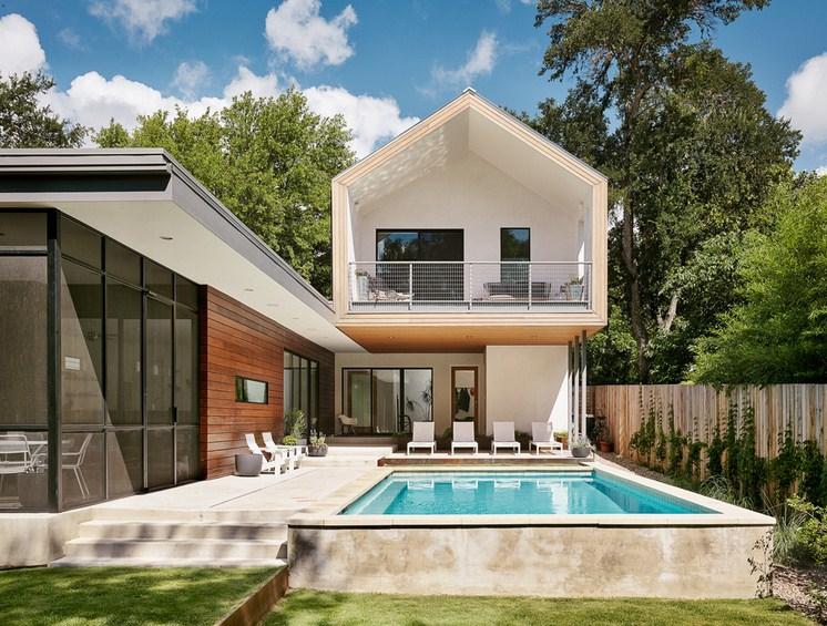 Zilker Modern Pool Design