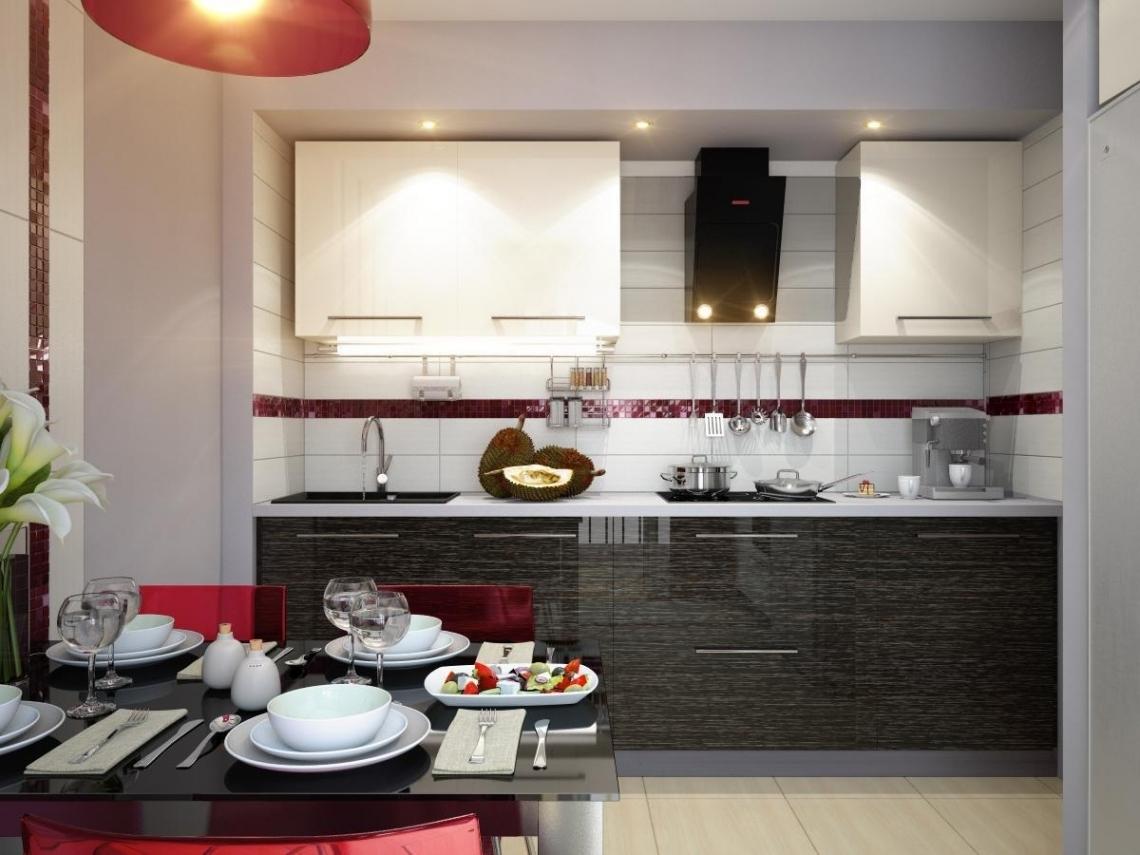 Кухни 10 м дизайн глянцевые