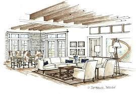 Contemporary Sketch Living Room