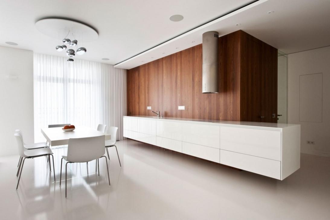 Perfect Minimal Super Stylish White Kitchen With Minimal White Kitchen Perfect Minimal Super