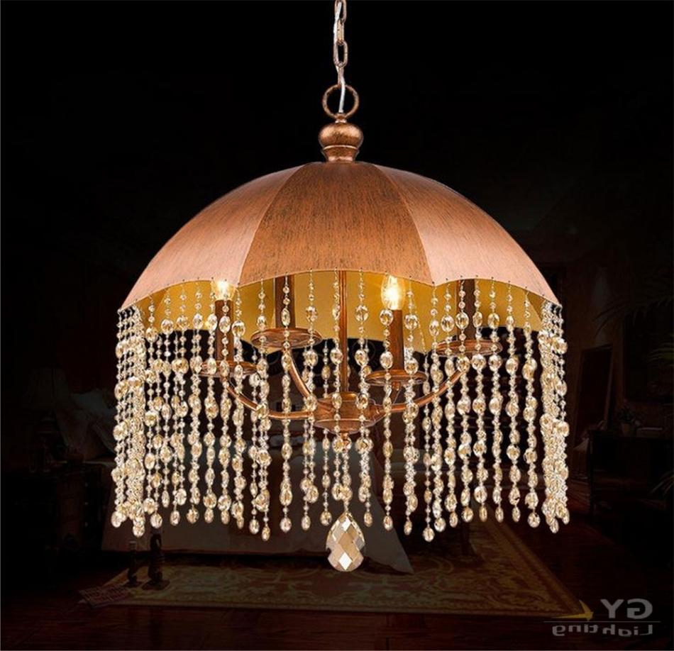Romantic Modern Minimalist Living Room Bedroom With Umbrella Lamp Chandelier Inside Wonderful Lamp Chandelier With An Umbrella
