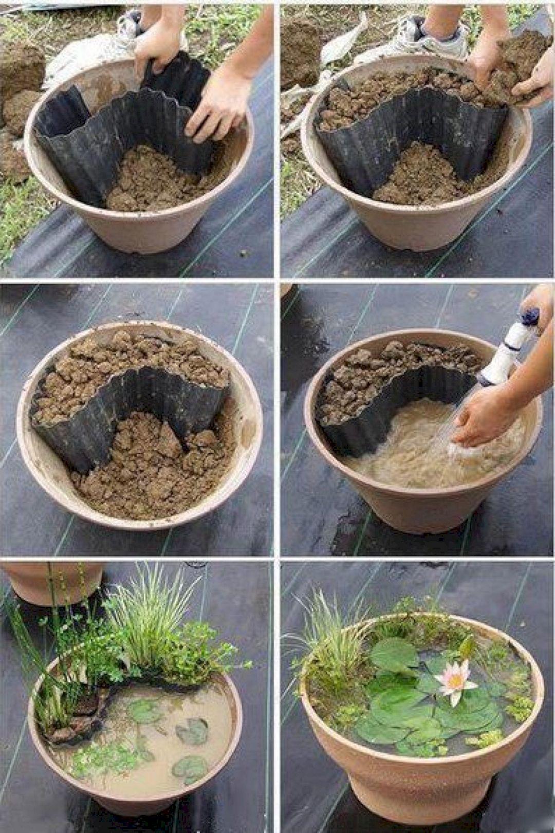 step by step diy wonderful tire garden ponds on a budget ins