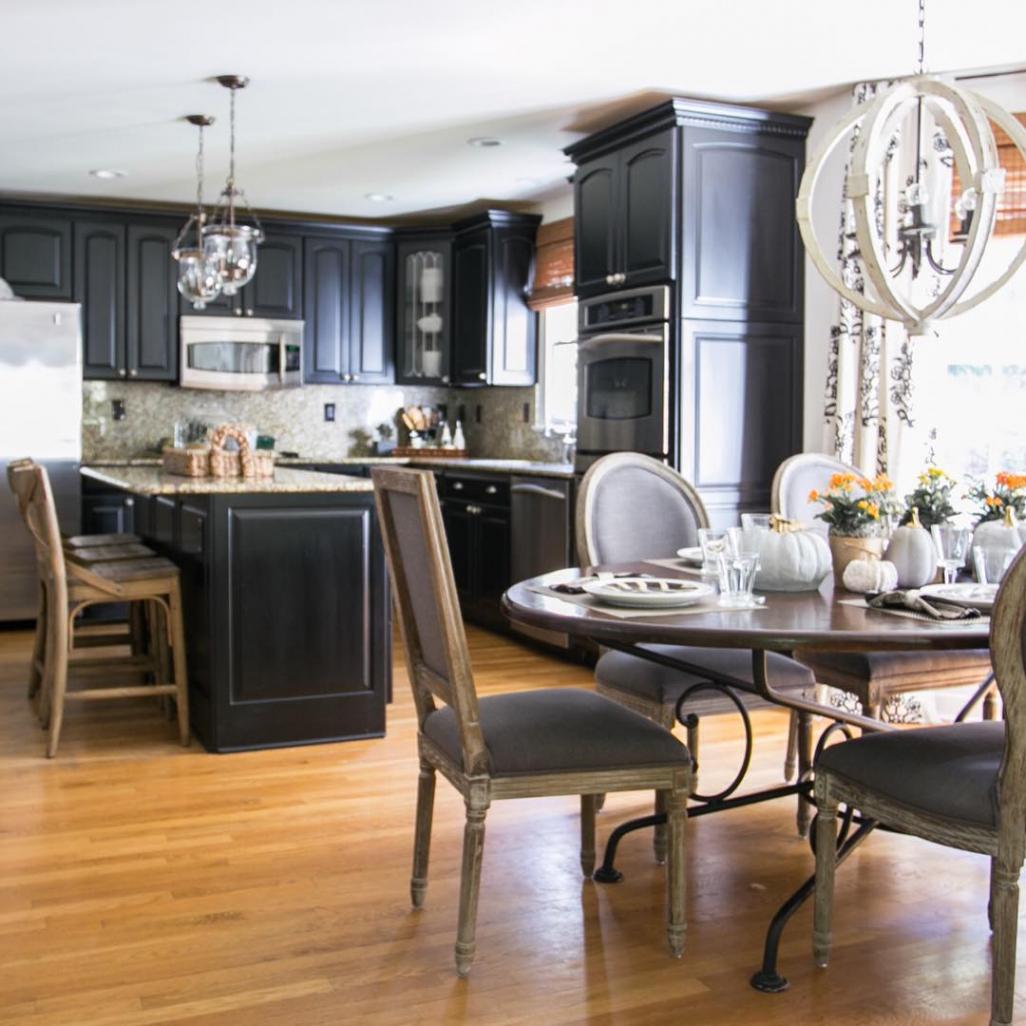 Black Kitchen Cabinets Inside Black Kitchen Cabinets (Cool