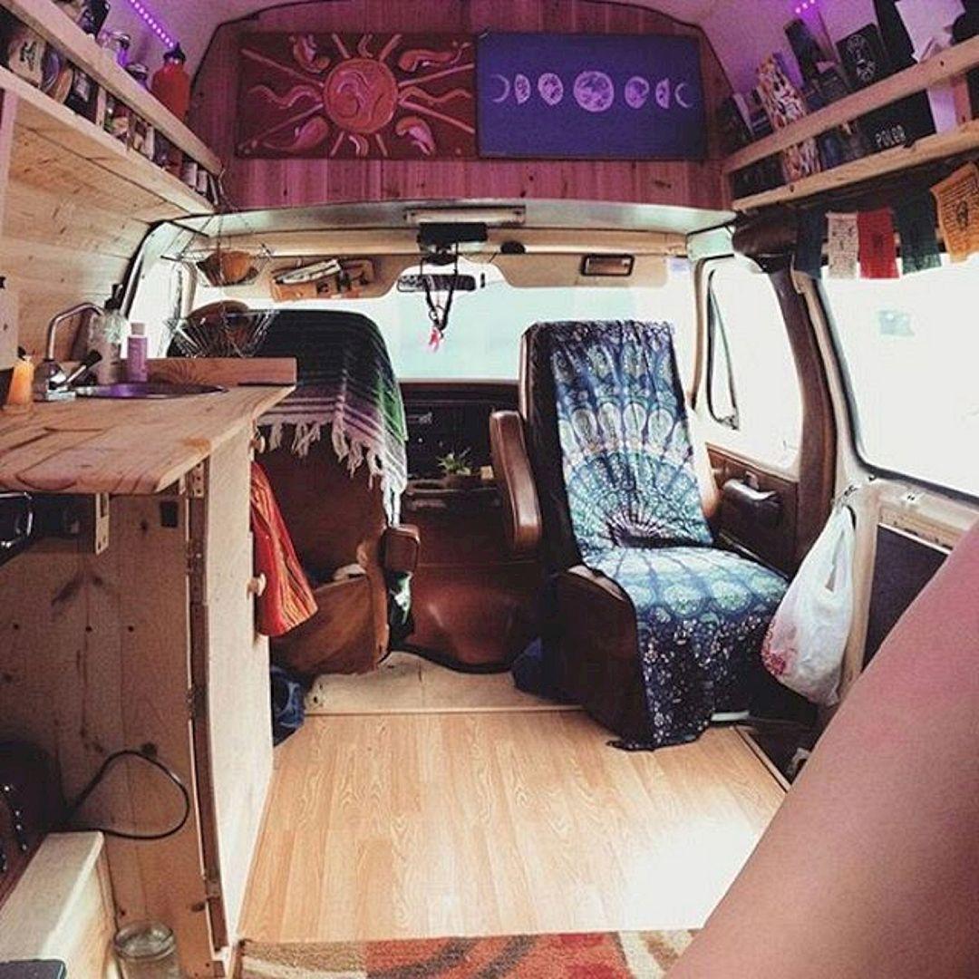 Interior design ideas for camper van no 44 interior for Van interior designs