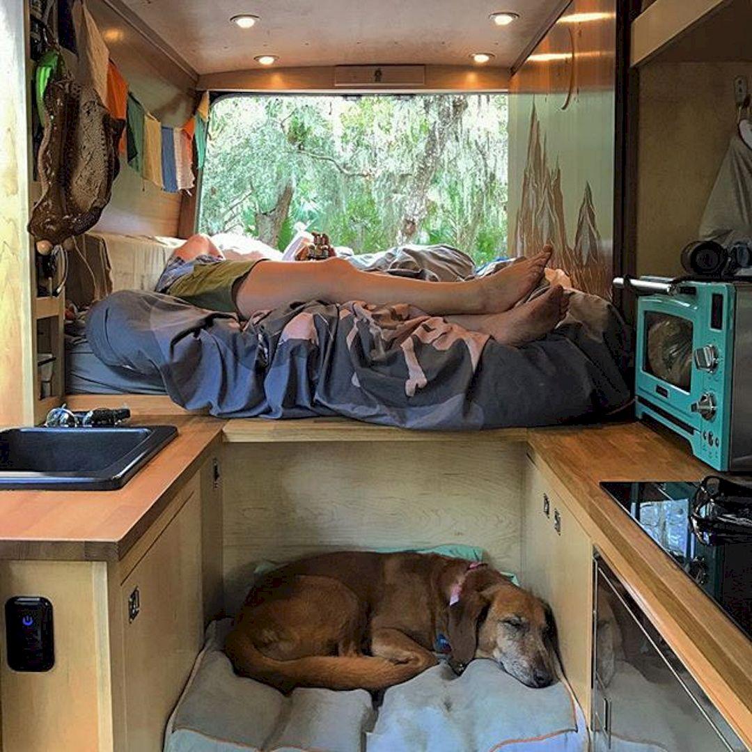 Interior design ideas for camper van no 47 interior for Homemade interior decoration
