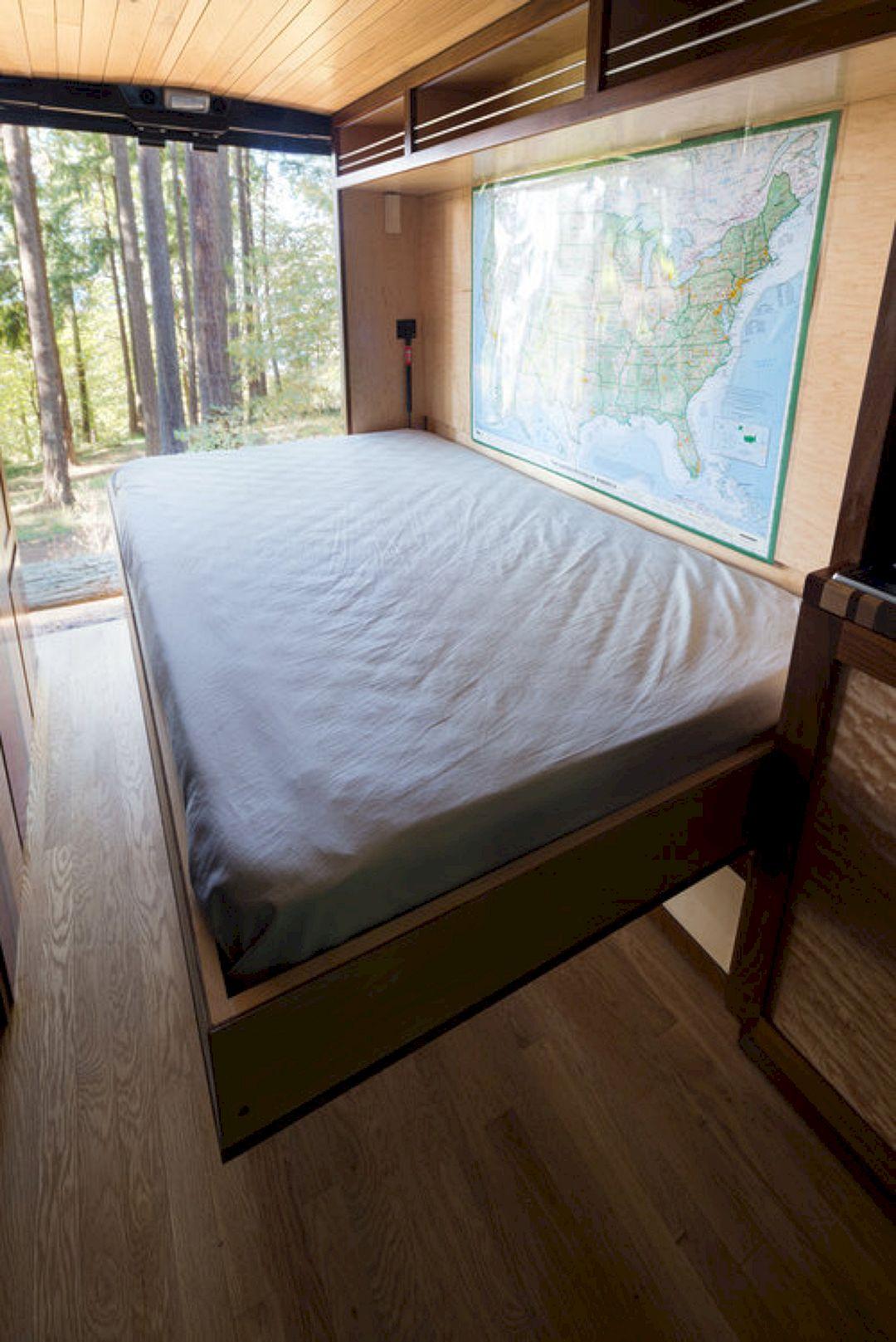 Interior design ideas for camper van no 48 interior design ideas for camper van no 48 design - Interior of bed ...