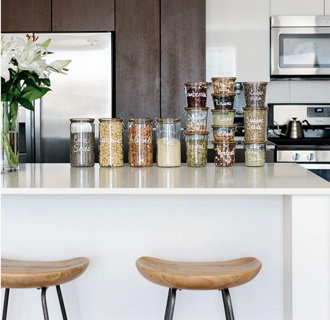 27 Space Saving Design Ideas For Small Kitchens: DIY Kitchen Storage Solutions Behind Door Cabinet Ideas