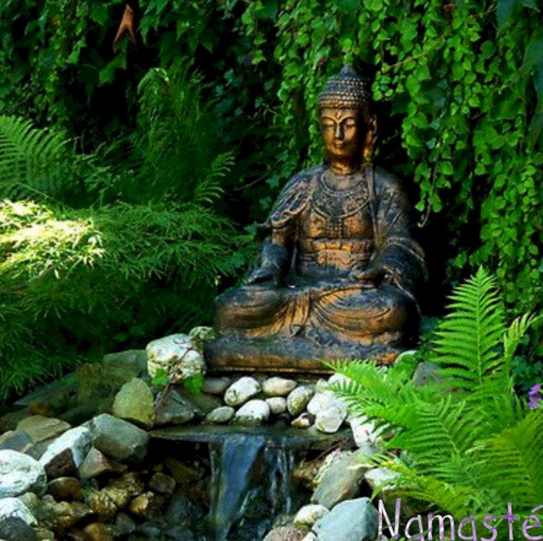 Buddha Statues For The Garden: Buddha Meditation Garden (Buddha Meditation Garden) Design
