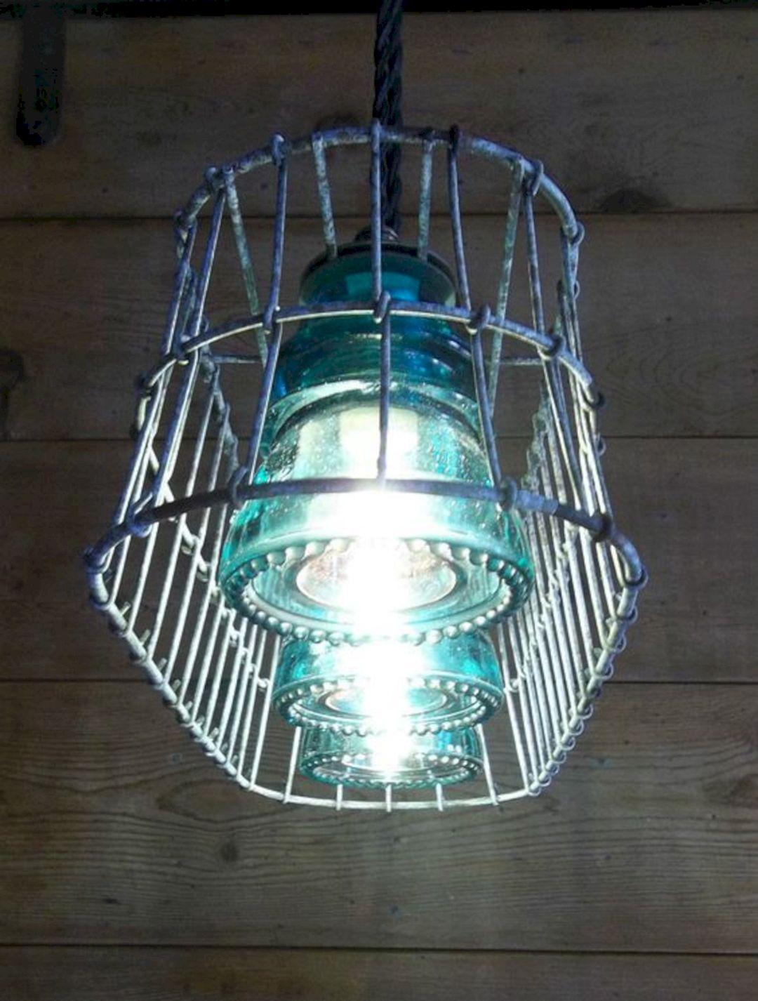Burlap wire basket lights burlap wire basket lights for Burlap lights